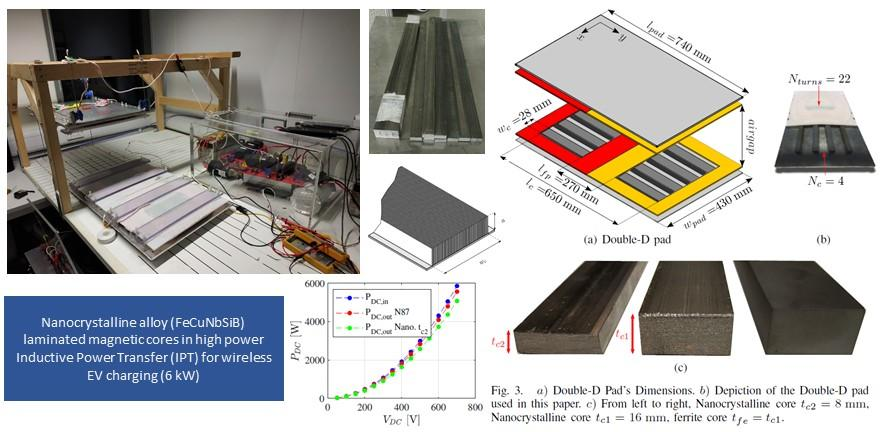 """""""Feasibility Study of Nanocrystalline-Ribbon Cores for Polarized Inductive Power Transfer Pads,""""  in IEEE Transactions on Power Electronics."""